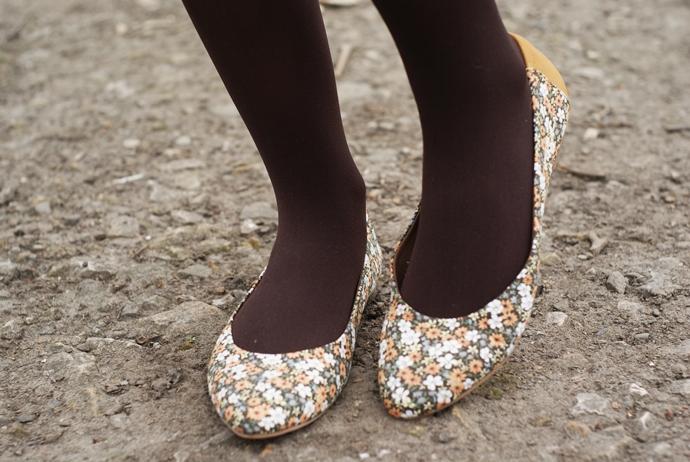 baleriny kwiatowe pepe jeans