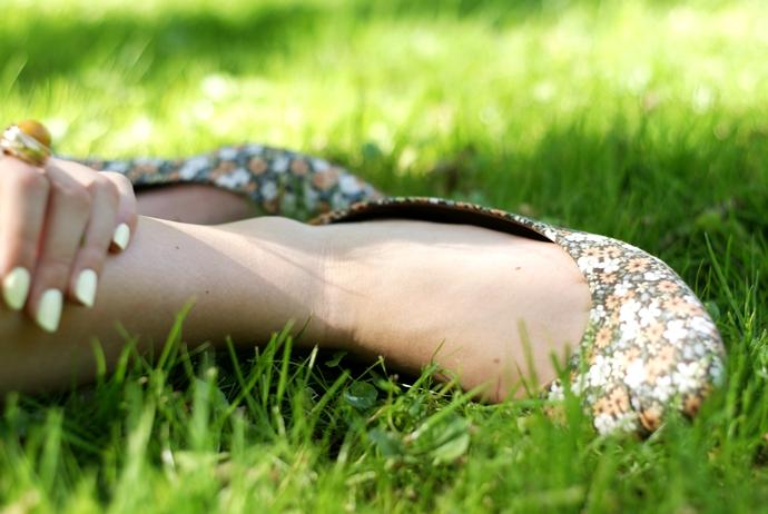baleriny pepe jeans w kwiaty