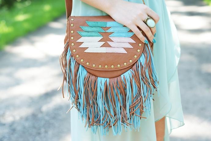 torebka z frędzlami sheinside boho hippie