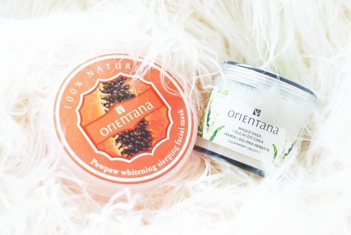 Recenzja kosmetyków: Adorebox, Orientana, DLA