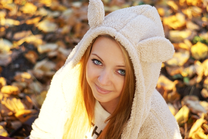 Be like a bunny hoodie with ears