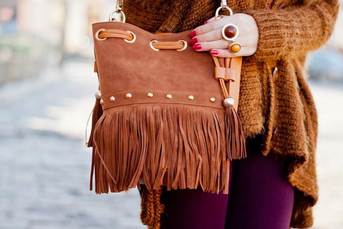 Big brown sweater