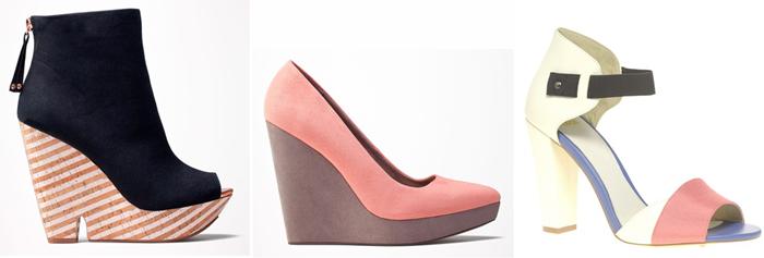 pastelowe buty sieciówki