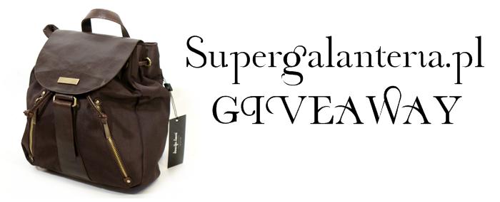 Supergalanteria.pl giveaway!