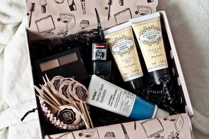 glossybox recenzja kosmetyków