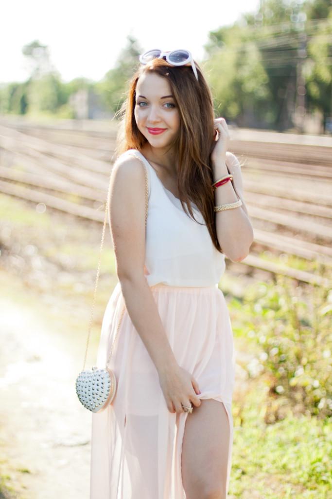 Maxi skirt once again