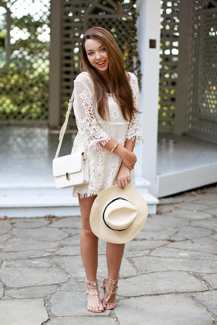 Crochet dress zara