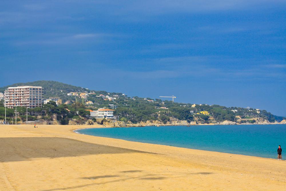 plaża Platja D'aro Barcelona