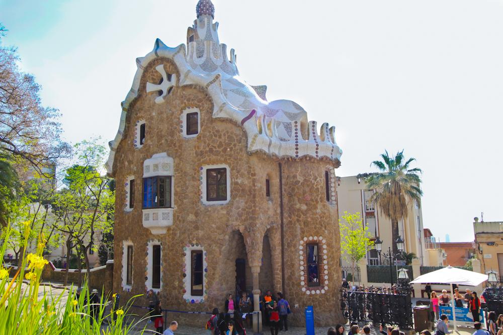 park guell barcelona zdjęcia