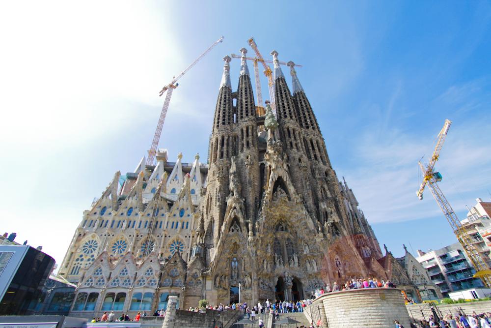 barcelona sagrada familia zdjęcia
