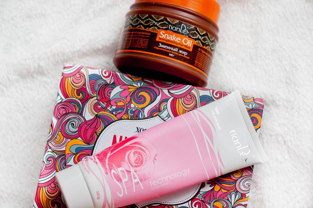 kosmetyki tiande recenzja kosmetyków
