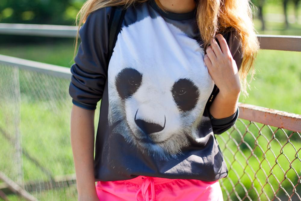 panda sweatshirt mr gugu ms go