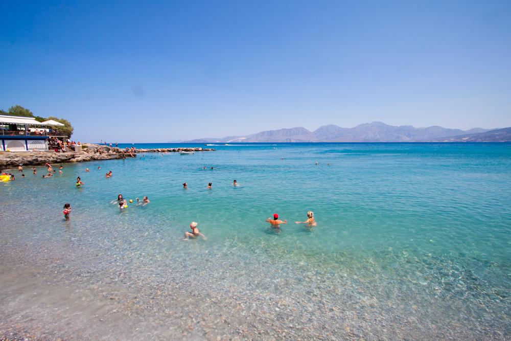 hotel ariadne beach agios nikolaos plaża