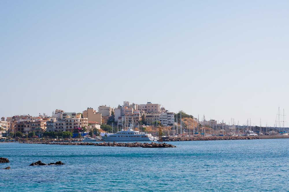 plaża kreta ariadne beach