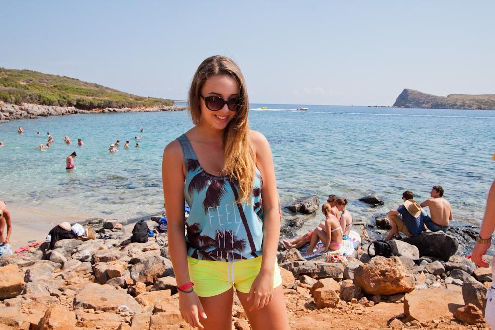 grecja kreta plaża