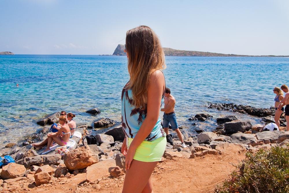 plaża na krecie agios nikolaos