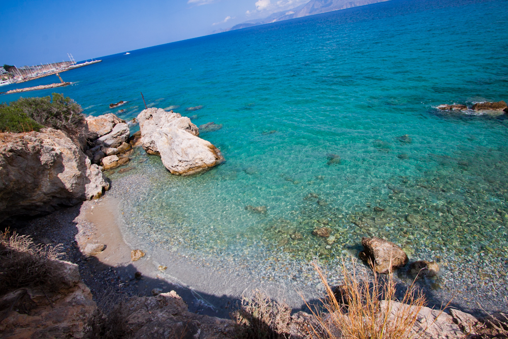 plaża Agios Nikolaos Kreta