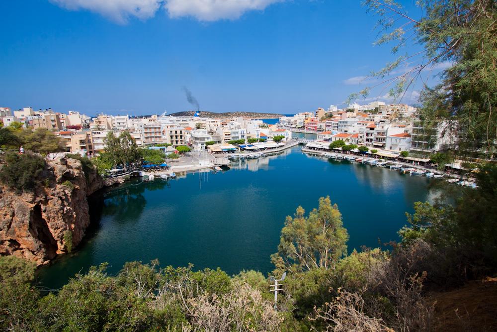 Miasto Agios Nikolaos | Fotorelacja z Krety ZATOKA