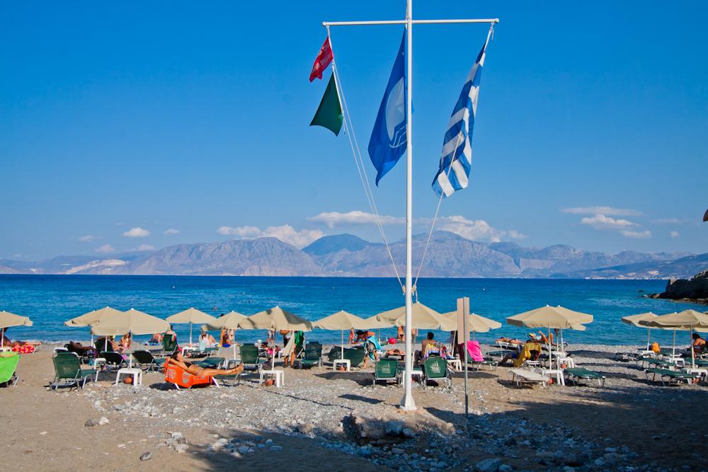 plaża w Agios Nikolaos