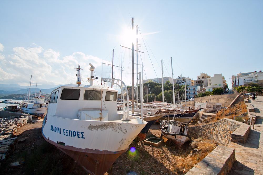 Miasto Agios Nikolaos | Fotorelacja z Krety