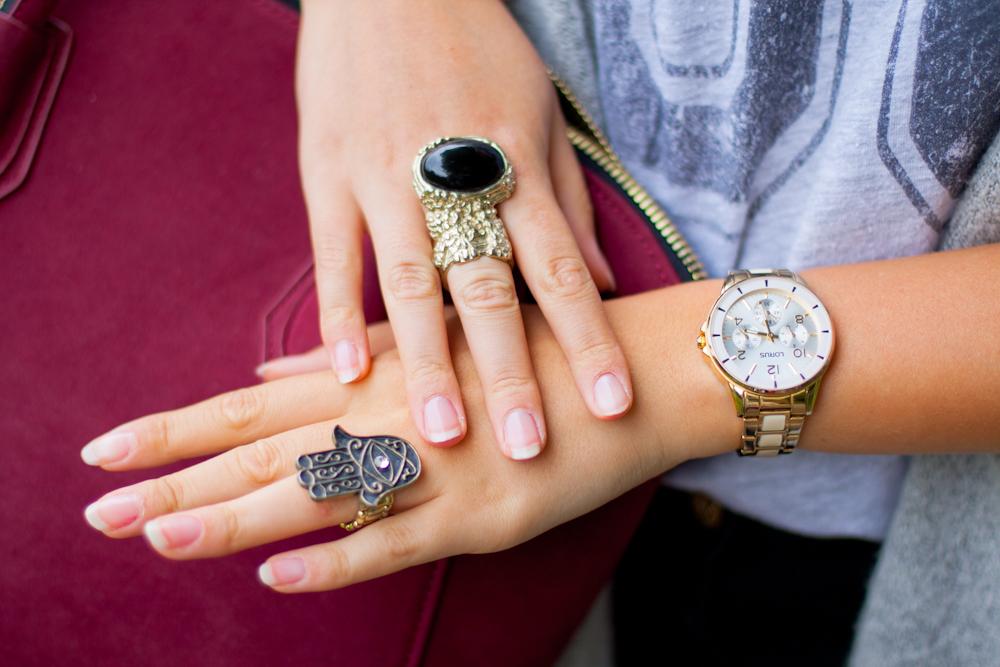 pierścionek hamsa