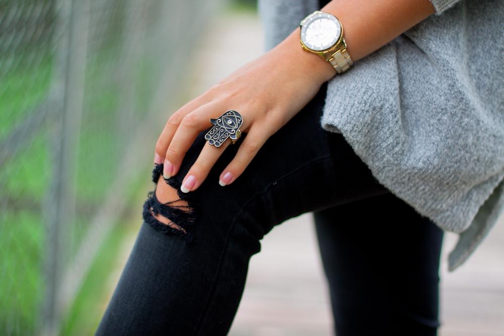 pierścionek hamsa zegarek lorus