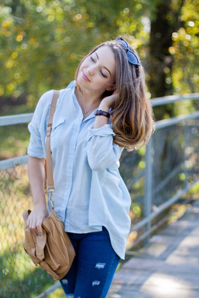 codzienna stylizacja blog modowy koszula cubus