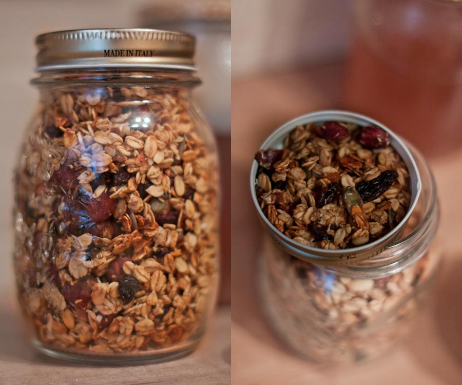 domowa granola orzechy