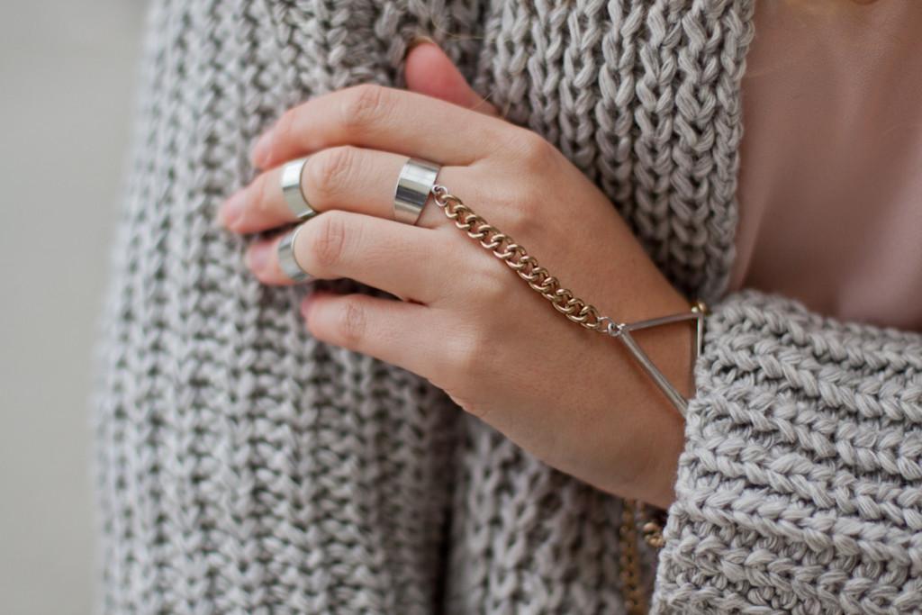 bransoletka z pierścionkiem