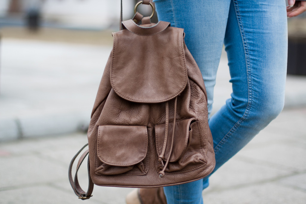 skórzany plecak Vero stilo
