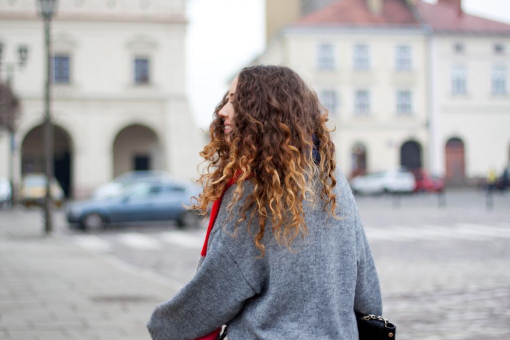 kręcone włosy curly hair kolorowa dusza