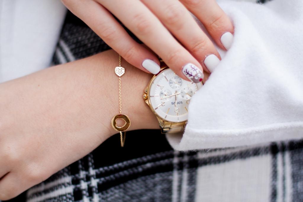 zegarek lorus bransoletka bejewel