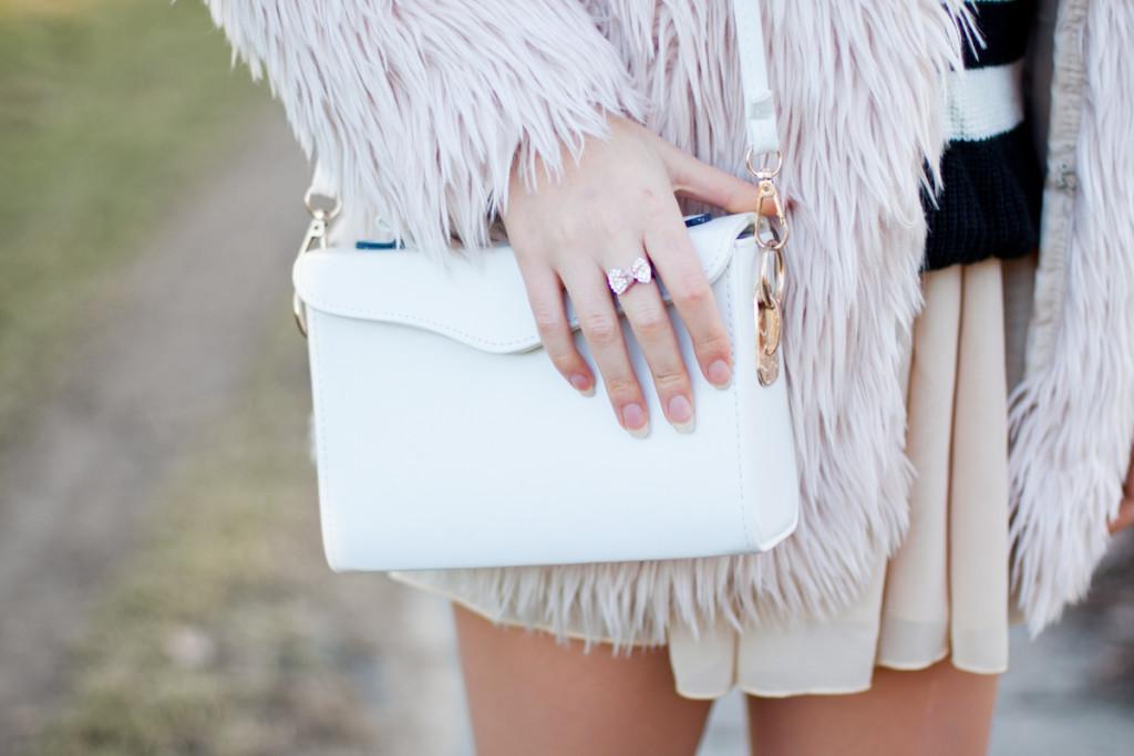 biała torebka sheinside
