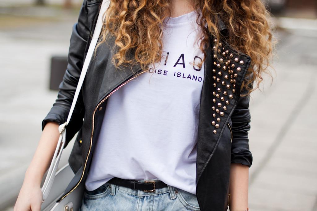 leather jacket sheinside
