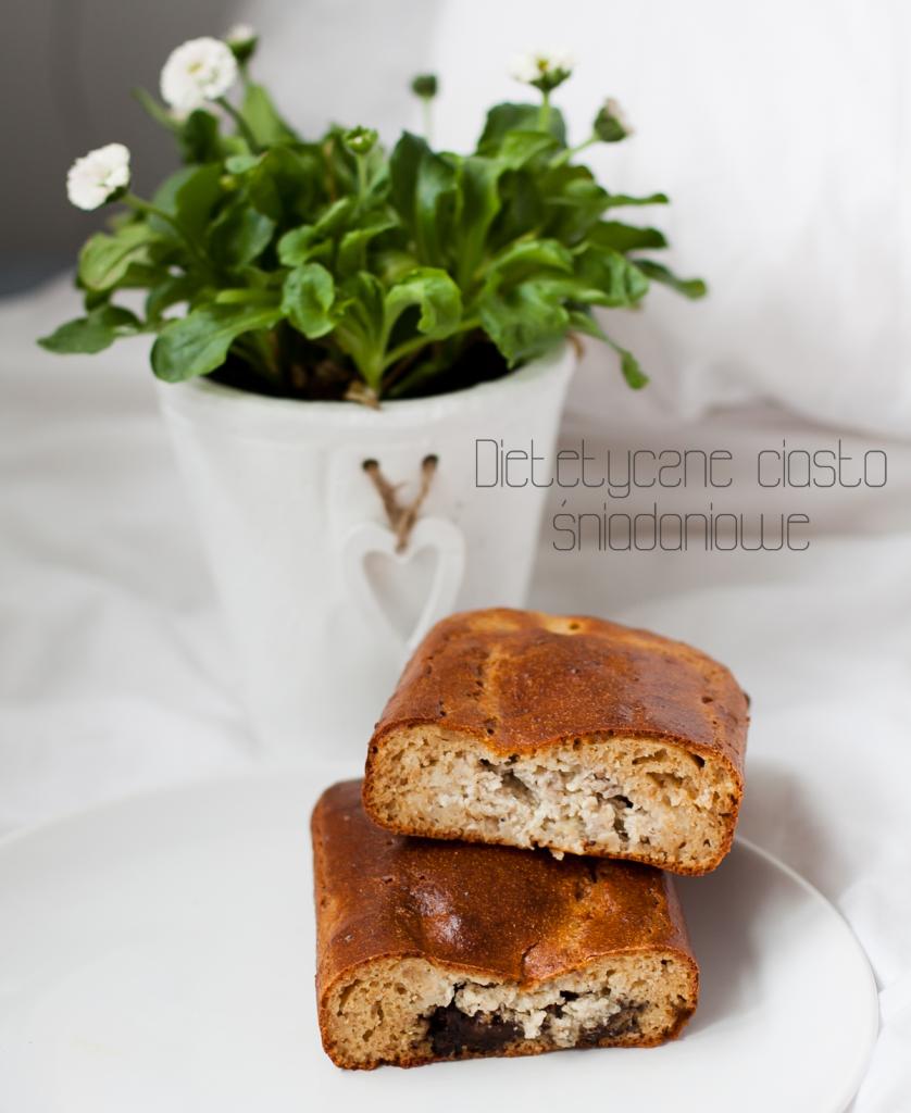 Dietetyczne ciasto śniadaniowe z serem