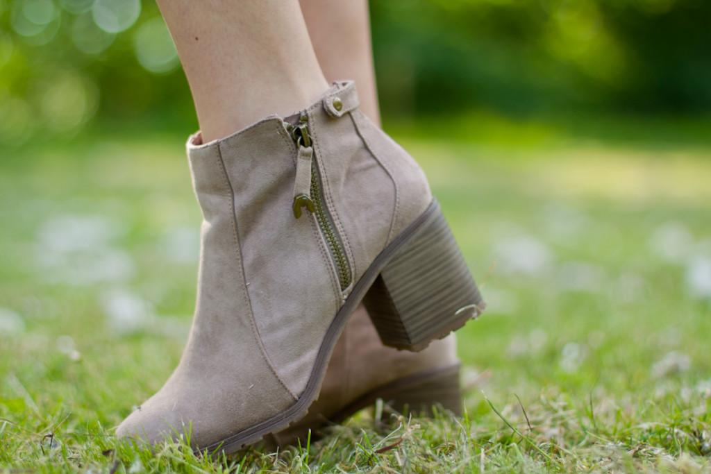 botki bershka boots