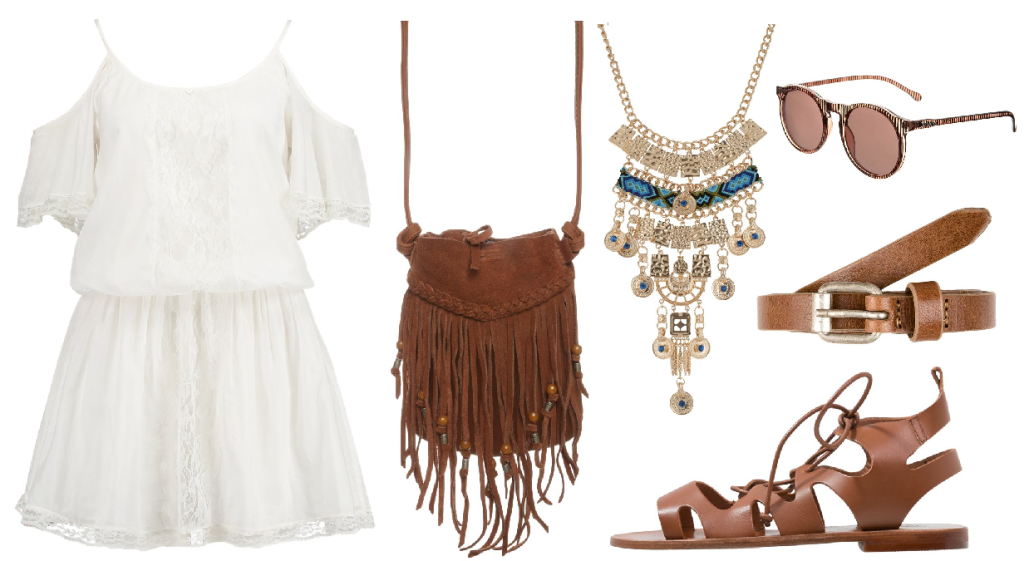 Jak ubrać się na co dzień? boho hippie