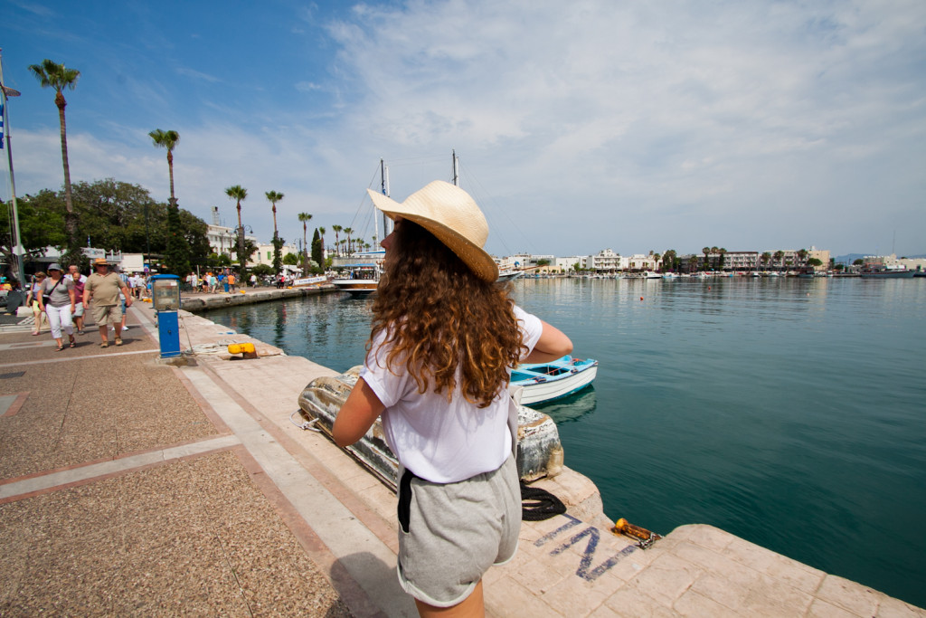 port w kos, atrakcie, zwiedzanie