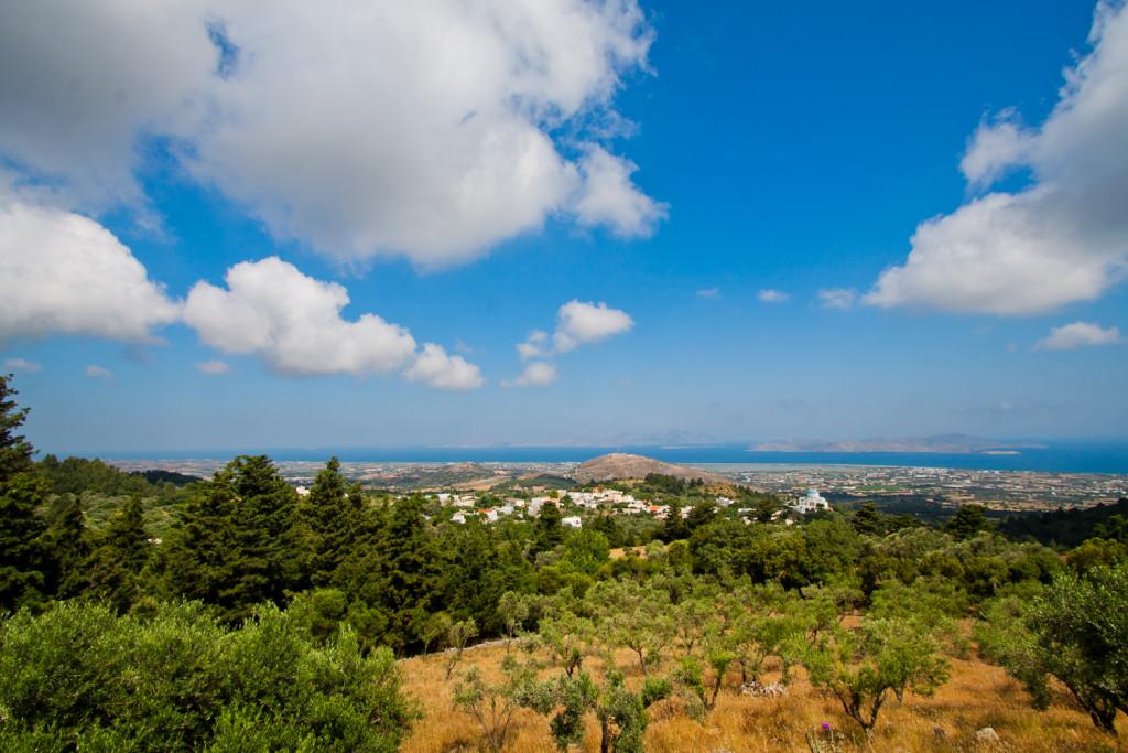 Miasto / wioska Zia na wyspie Kos