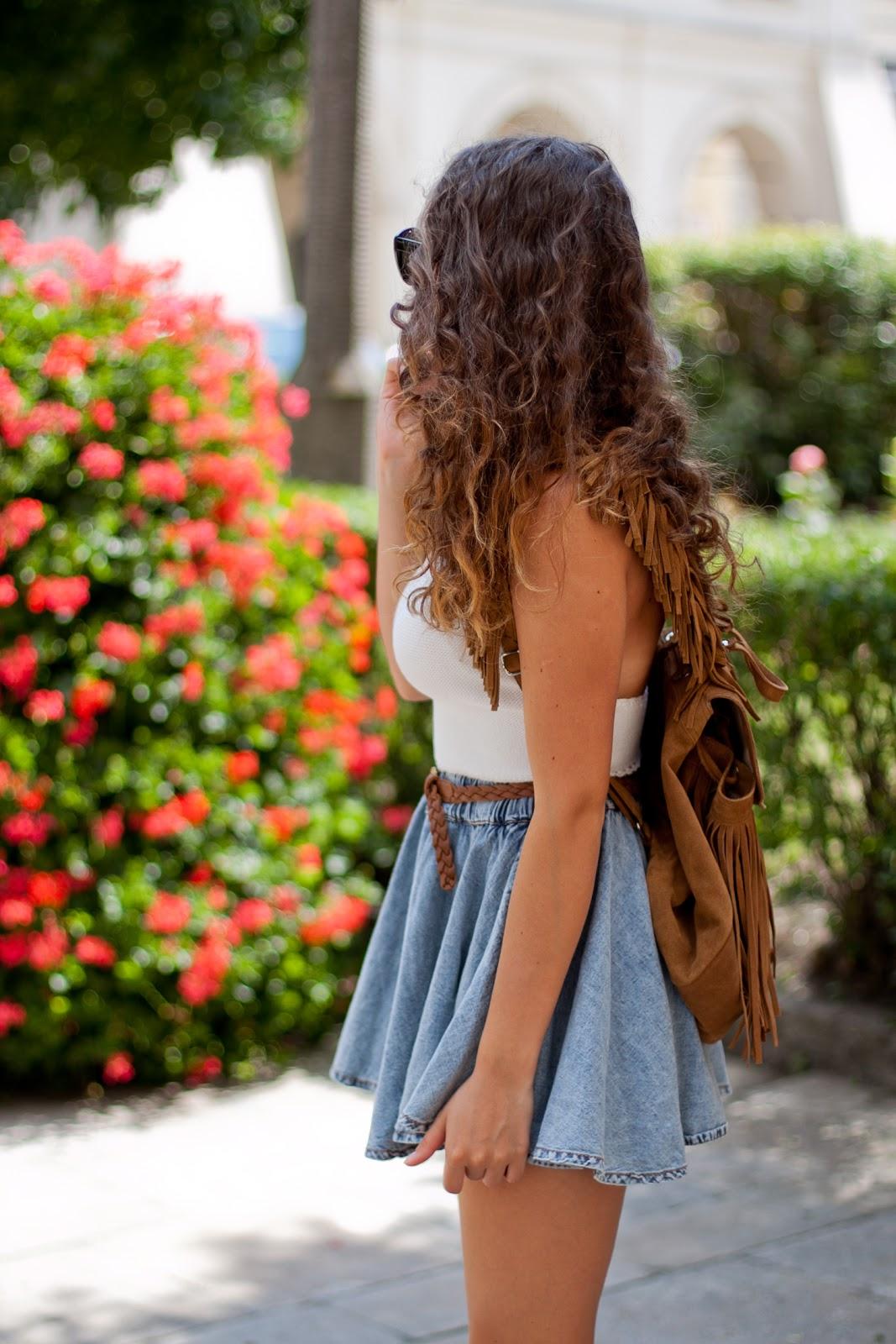 jeansowa spódnica czy spodenki