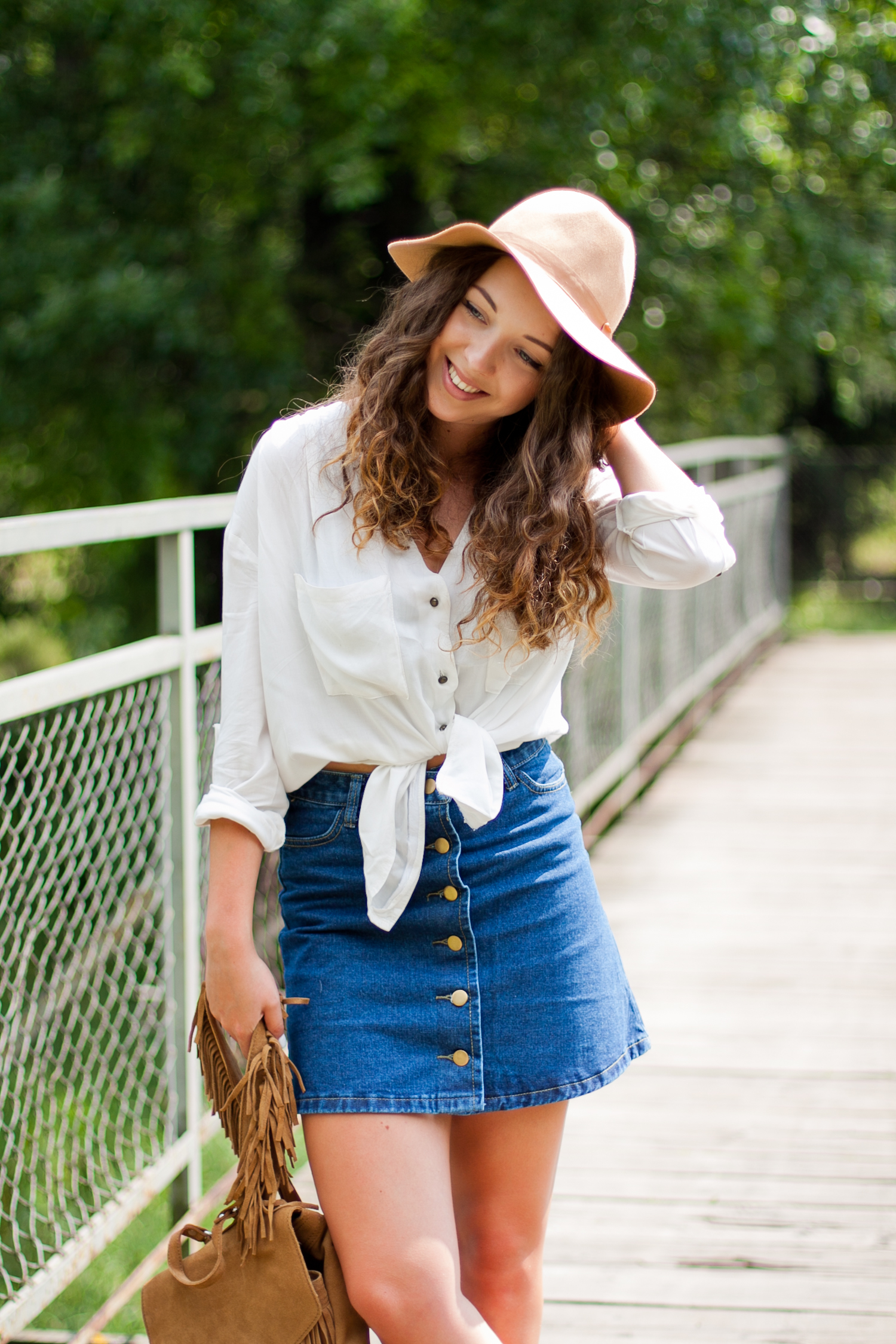 jeansowa-spódnica-sheinside