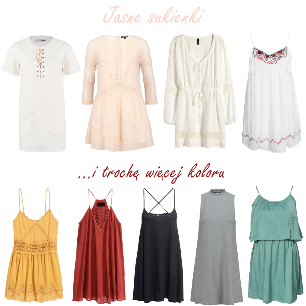 Sukienka na lato - jaką wybrać, gdzie kupić?