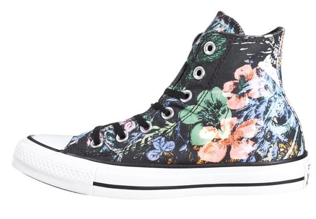 Buty Converse trampki w kwiaty