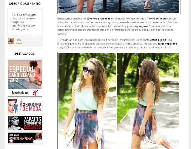¡Cómo sube la canalla! Bloggers divinas por debajo de la veintena