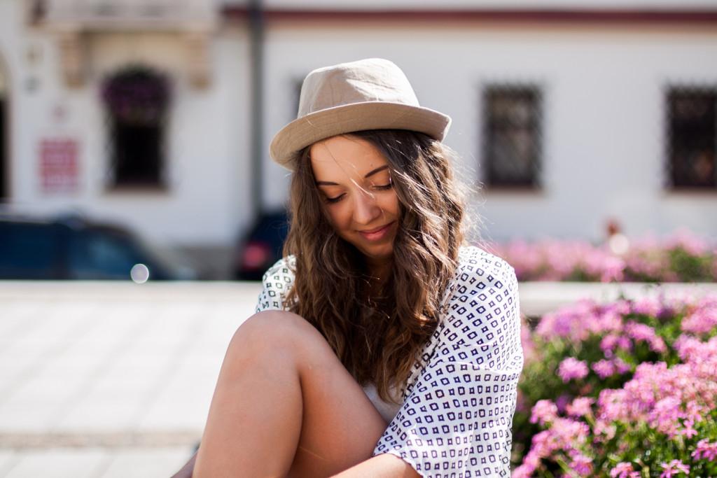 kapelusz męski na lato
