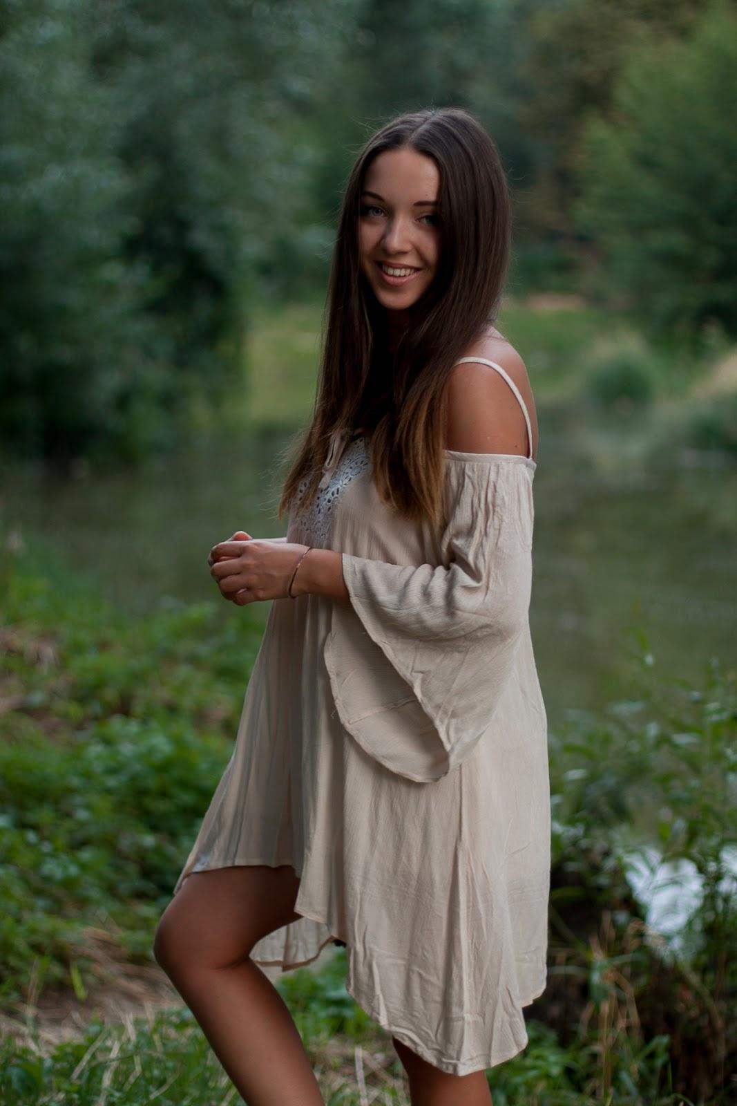 sukienka boho hippie
