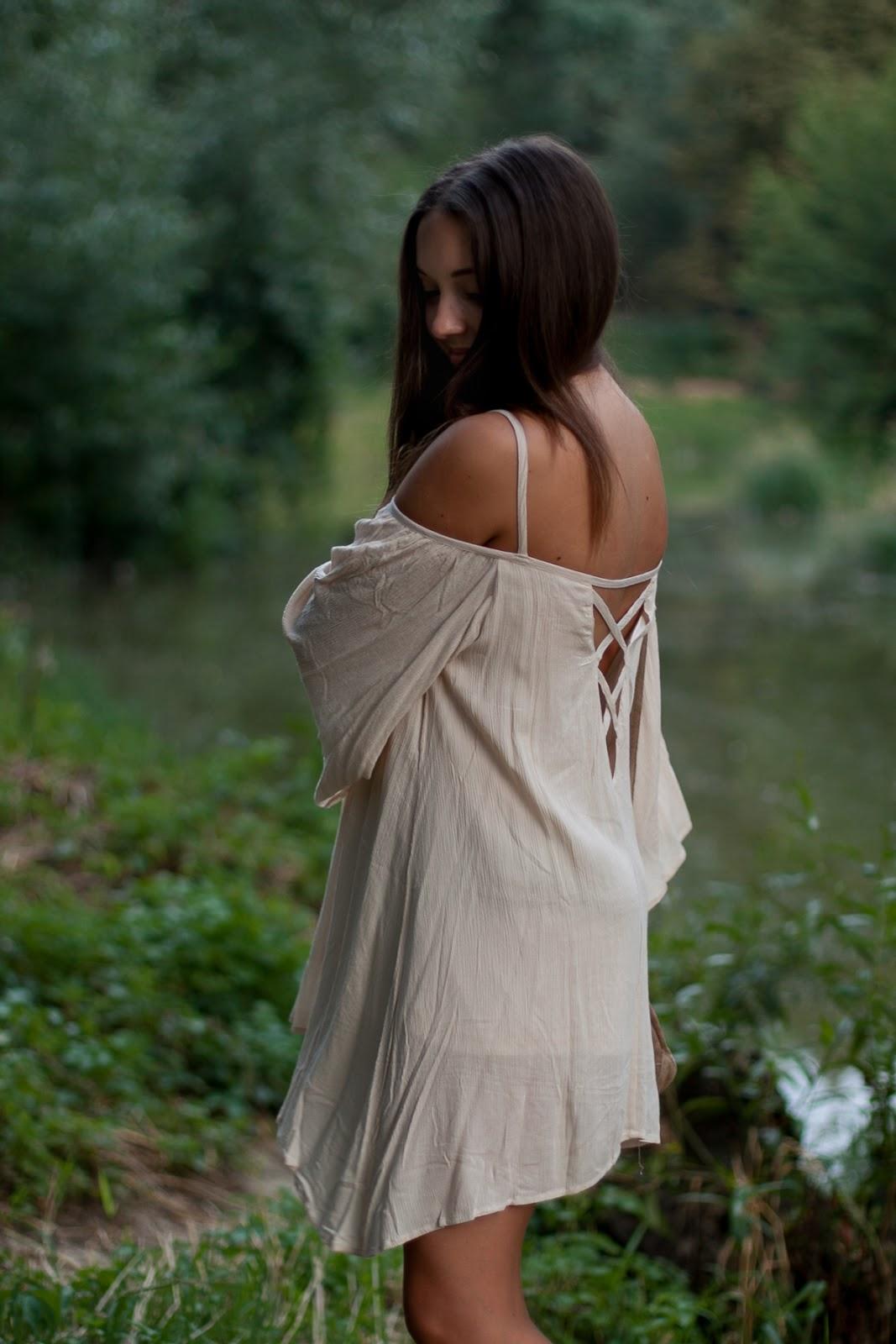 sukienka boho romwe