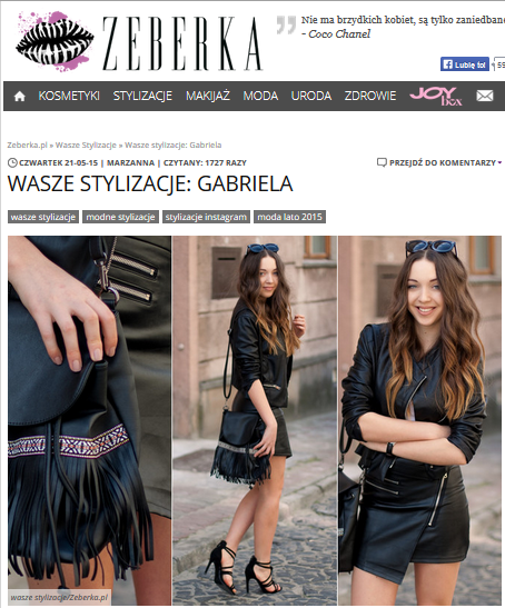 Stylizacja dnia na Zeberka.pl