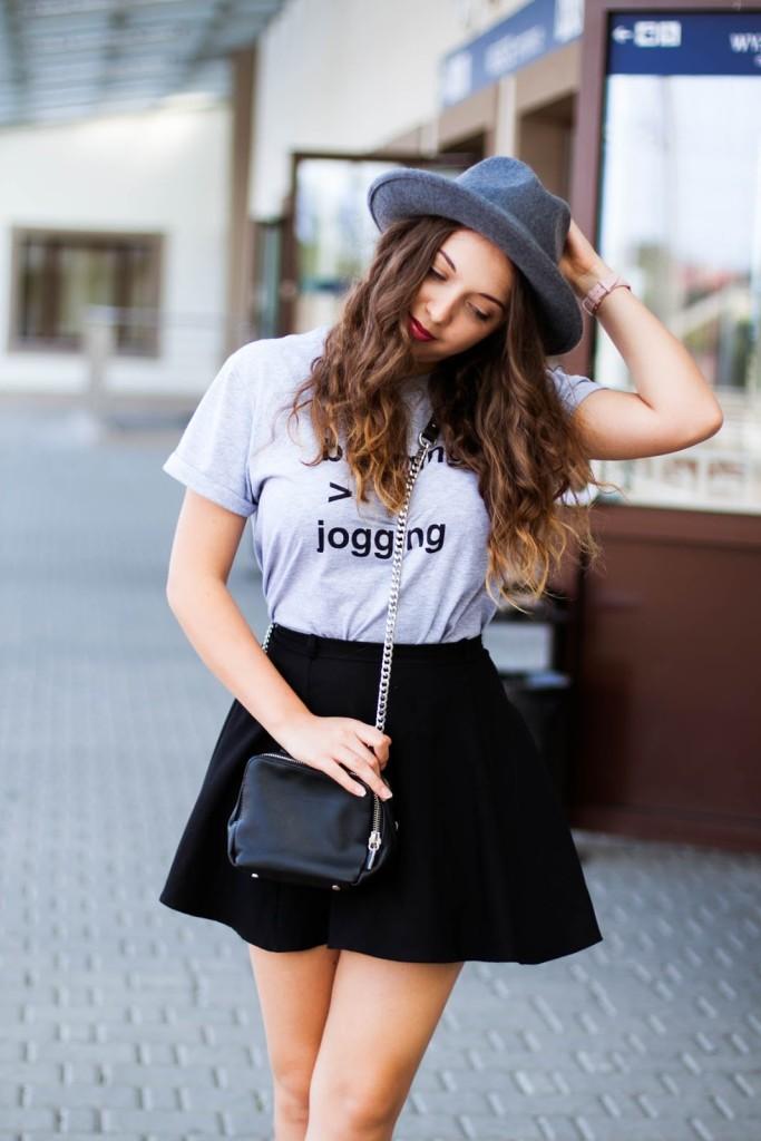 blogging or jogging