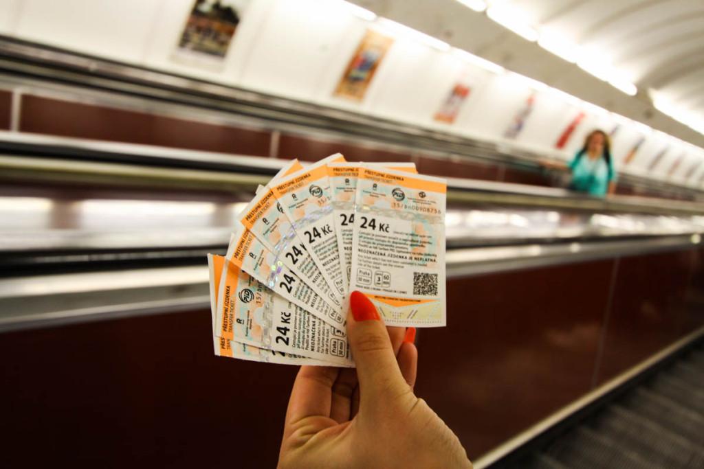 metro praga